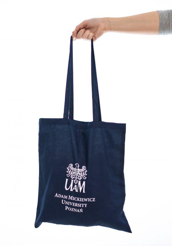 Torba bawełniana z logotypem UAM